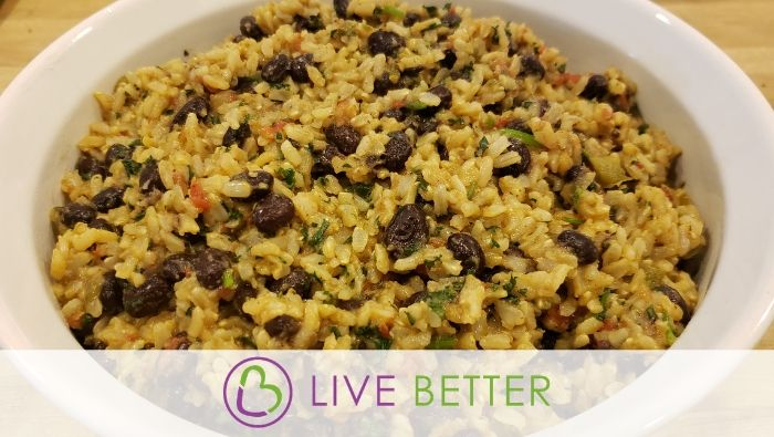 Instant Pot Mexican Brown Rice and Beans