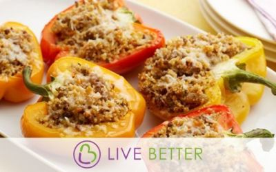 Stuffed Peppers and Manicotti Noodles?