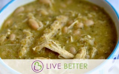 Chicken, White Bean and Green Chili Soup