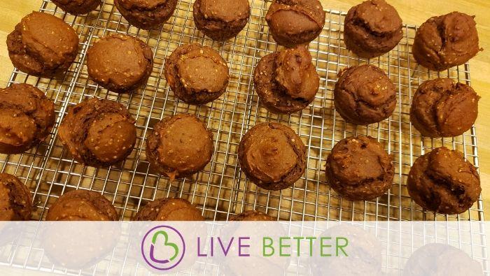 ZEN Chocolate Cinnamon Muffins – Gluten Free